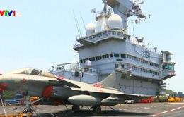 Ấn Độ - Pháp tập trận hải quân chung quy mô lớn