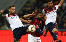 AC Milan thắng sát nút Bologna trên sân nhà