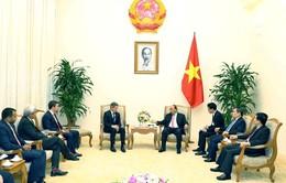 Thủ tướng Nguyễn Xuân Phúc tiếp Chủ tịch Quỹ Warburg Pincus