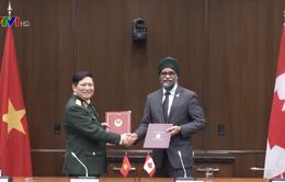 Thúc đẩy hợp tác quốc phòng Việt Nam - Canada