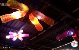 Độc đáo quán cafe giữa lòng Hà Nội được thiết kế hoàn toàn từ rác thải tái chế