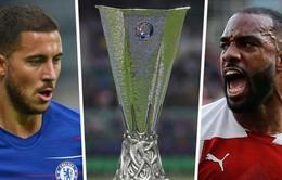 Lịch trực tiếp bóng đá bán kết lượt về Europa League: Derby London ở chung kết?