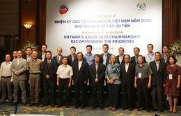 """Hội thảo quốc tế """"Nhiệm kỳ Chủ tịch ASEAN của Việt Nam năm 2020: Khuyến nghị về các ưu tiên"""""""