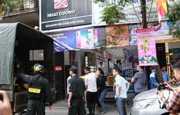 Bộ Công an khám xét chuỗi cửa hàng điện thoại Nhật Cường