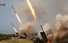 Triều Tiên phóng các vật thể chưa xác định