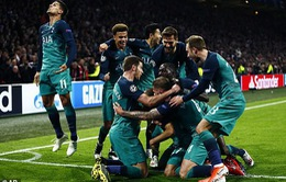 ẢNH: Màn lội ngược dòng thần kỳ của Tottenham trước Ajax