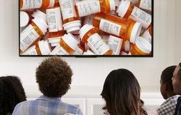 Mỹ công bố giá thuốc trong các quảng cáo trên truyền hình