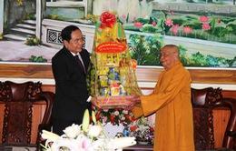 Đồng chí Trần Thanh Mẫn chúc mừng Phật đản tại Quảng Nam