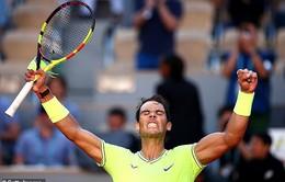 Vượt qua David Goffin, Nadal giành quyền vào vòng 4 giải Pháp mở rộng 2019