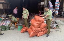 Lạng Sơn thu giữ hơn 240kg dược liệu không rõ nguồn gốc