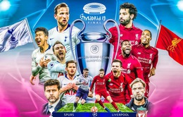 Liverpool - Tottenham: Chào đón tân vương châu Âu (Chung kết UEFA Champions League)