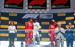 Đua xe F1: Lewis Hamilton giành chiến thắng tại GP Canada
