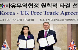 Thỏa thuận nguyên tắc về FTA Hàn Quốc – Anh