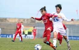 Lịch tường thuật trực tiếp lượt đi Giải Bóng đá nữ Vô địch Quốc gia 2019