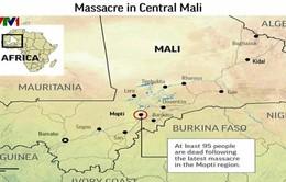 Tấn công ở Mali, gần 100 người thiệt mạng