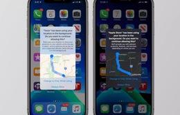 iOS 13 thêm tùy chỉnh cho các ứng dụng yêu cầu định vị