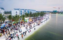 Vingroup thắp sáng hồ Vinhomes Ocean Park bằng dàn sao khủng showbiz