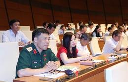 Ngày 11/6, Quốc hội biểu quyết thông qua hai Nghị quyết