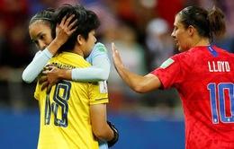 ĐT nữ Thái Lan nhận thất bại đậm nhất lịch sử World Cup