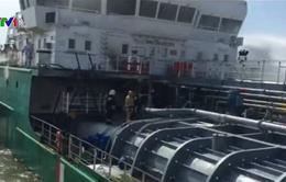 Cháy tàu chở dầu ở Nga, 3 thủy thủ thiệt mạng