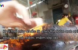 Kinh hãi công nghệ làm giả thịt lợn rừng