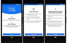 Facebook trả tiền để nghiên cứu về các ứng dụng người dùng sử dụng