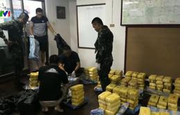 Thái Lan thu giữ 2,2 triệu viên ma túy đá