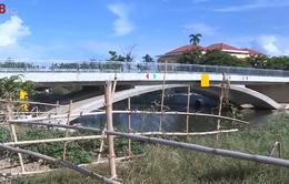 Công trình giao thông xây xong nhưng chưa được đấu nối gây bức xúc trong nhân dân