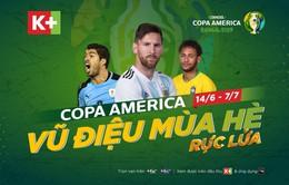 Lịch thi đấu và trực tiếp bóng đá Copa America 2019: Brazil, Argentina tranh ngôi vương?