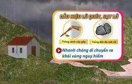 Vùng núi Bắc Bộ mưa lớn, đề phòng lũ quét, sạt lở đất