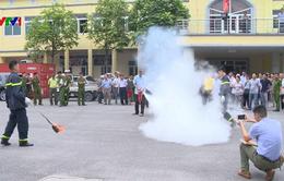 Tập huấn phòng cháy, chữa cháy cho chủ hộ kinh doanh