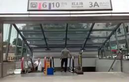 Nhà ga tàu điện ngầm có độ sâu bằng chiều cao tòa nhà 31 tầng