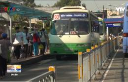 Tp. Hồ Chí Minh kiểm tra hoạt động của các tuyến xe buýt
