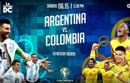 Lịch thi đấu Copa America 2019 ngày 16/6: Venezuela vs Peru, Argentina vs Colombia