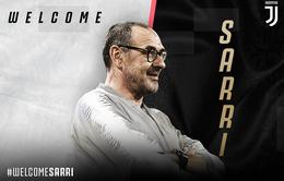 CHÍNH THỨC: Maurizio Sarri trở thành HLV trưởng CLB Juventus