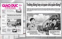 """""""Ồn ào"""" giữa ĐH Tôn Đức Thắng và Tổng LĐLĐ Việt Nam: Trường đúng, hay cơ quan chủ quản đúng?"""