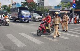 TP.HCM: Phát hiện xử lý nhiều xe vi phạm đường cấm, giờ cấm