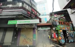 Cháy khách sạn tại quận Hoàn Kiếm, 30 người kịp thời thoát thân