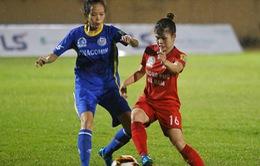 Vòng 3 bóng đá nữ VĐQG 2019: Than KS Việt Nam chia điểm Phong Phú Hà Nam