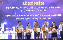 Trao Giải báo chí thành phố Đà Nẵng