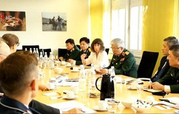 Việt Nam tìm hiểu kinh nghiệm tham gia gìn giữ hòa bình tại Đức