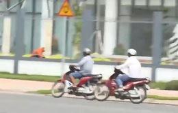TP.HCM: Đường dây chuyên canh chừng công an để xe tải hoành hành trong đường cấm