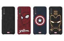 """Samsung """"âm thầm"""" trình làng ốp smartphone siêu anh hùng Marvel mới"""