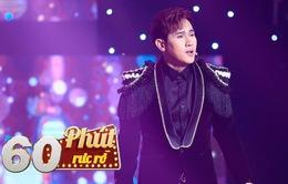"""Nguyên Vũ tái hiện 28 năm sự nghiệp ca hát trên sân khấu """"60 phút rực rỡ"""""""