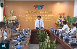 Nhiều tình cảm dành cho người làm báo tại kênh Truyền hình quốc gia VTV9 Cần Thơ, TP.HCM