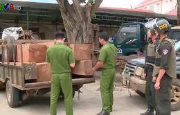 Đắk Lắk truy bắt nhóm đối tượng vận chuyển gỗ trái phép