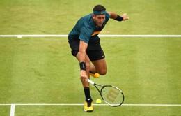 Juan Martin del Potro đứng trước nguy cơ vắng mặt tại Wimbledon