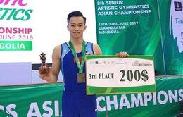 Lê Thanh Tùng giành tấm huy chương lịch sử tại giải TDDC châu Á