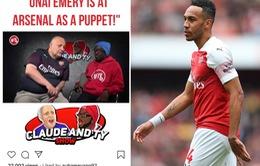 Bóng gió chỉ trích HLV Unai Emery, Aubameyang sắp rời Arsenal?