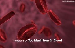 Chỉ số sắt cao liên quan đến bệnh tiểu đường và bệnh gan